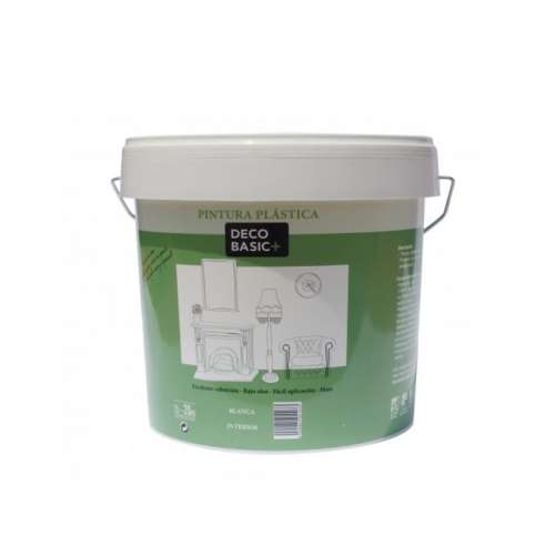 Deco basic plus mate Interior Pintura plástica blanca
