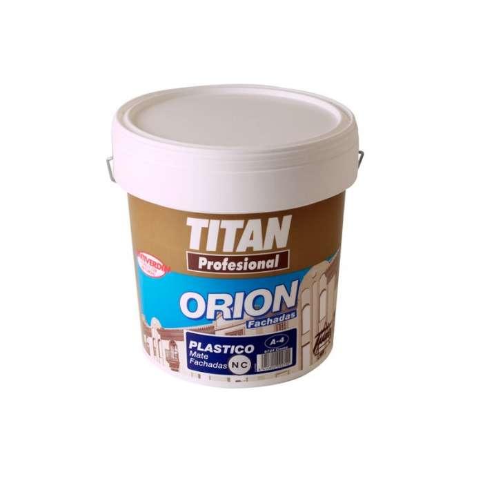 Orion fachadas A-4 profesional Titan Pintura plástica de exterior