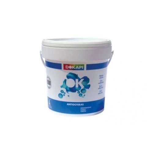 Impermeabilizante para cubiertas premium Dokapi Revestimiento antigoteras