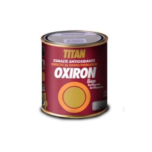 Oxiron liso brillante Titan Esmalte metálico antioxidante