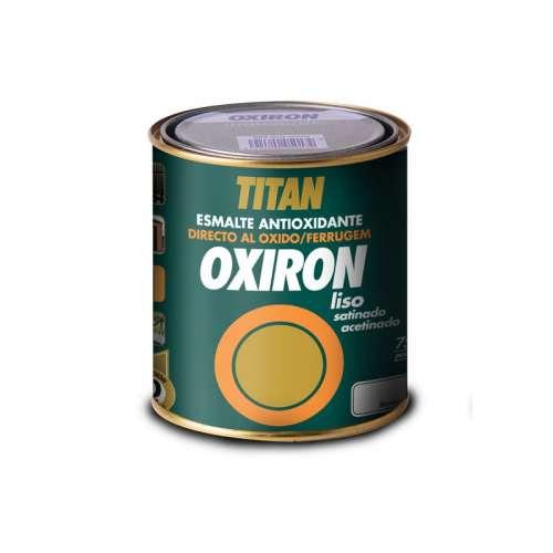 Oxiron liso satinado Titan Esmalte metálico antioxidante