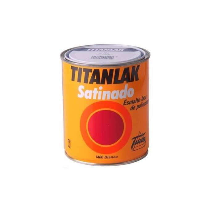 Titanlak satinado Titan Esmalte laca de poliuretano
