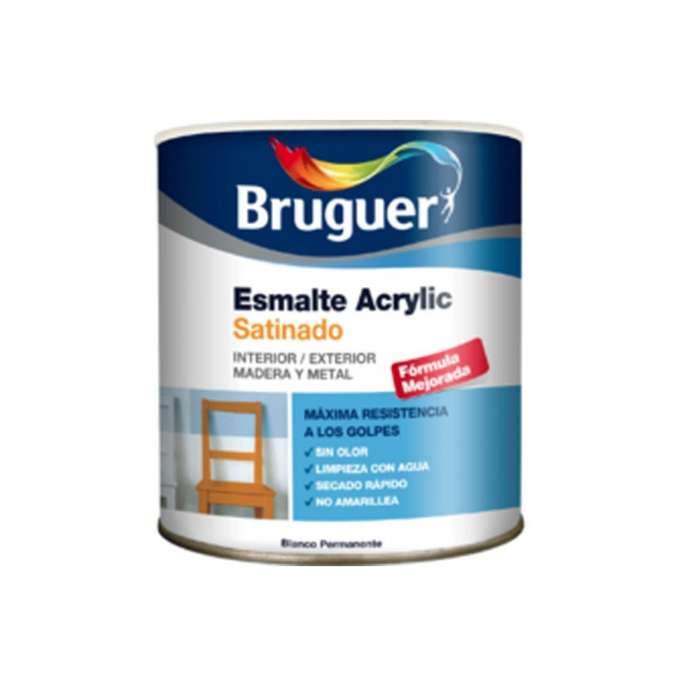 Bruguer esmalte acrílico satinado