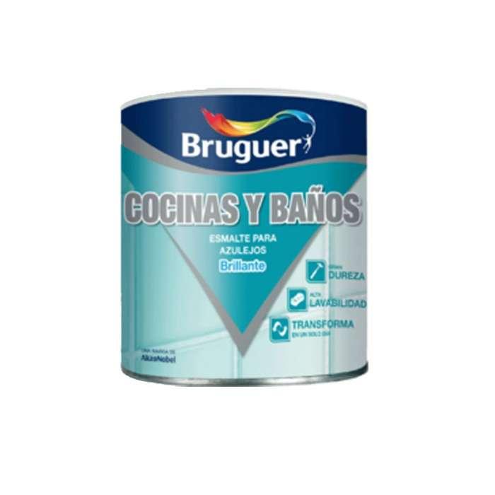 Bruguer esmalte azulejos brillante