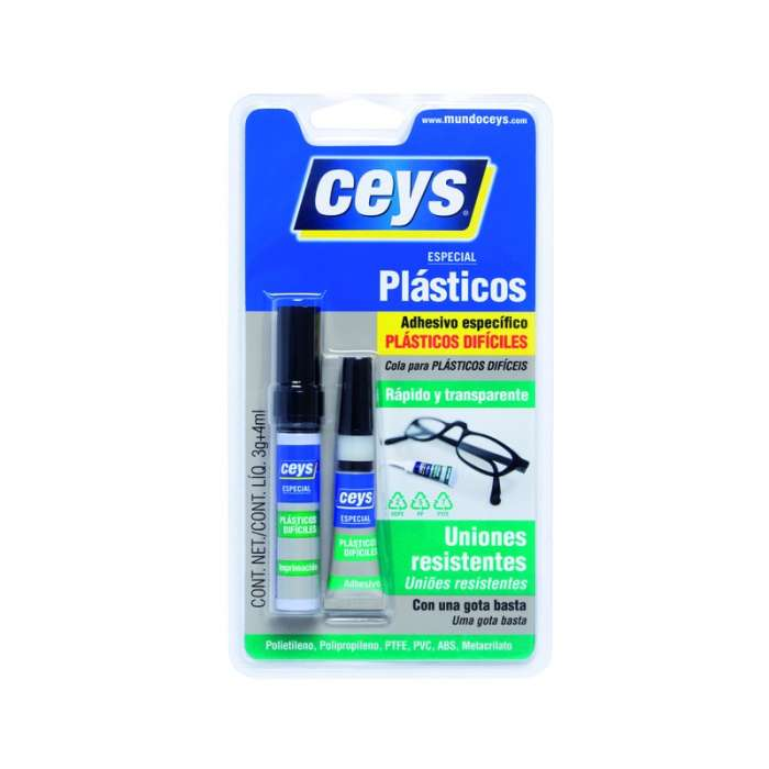 Adhesivo Plásticos Difíciles Ceys