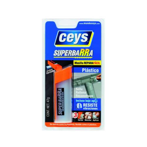 Superbarra Reparadora Ceys para Plásticos
