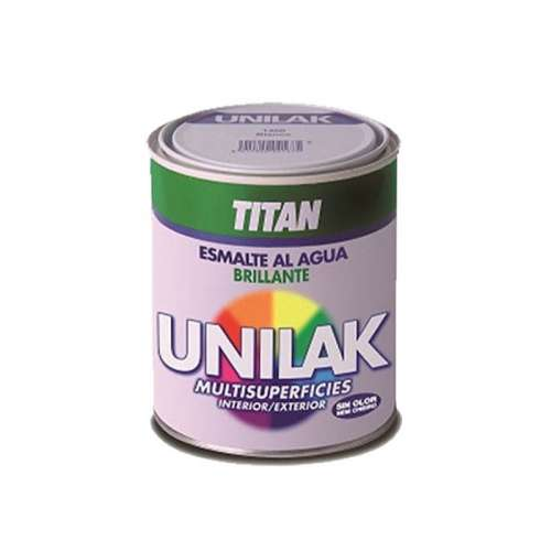 Unilak brillante Titan Esmalte multisuperficies al agua