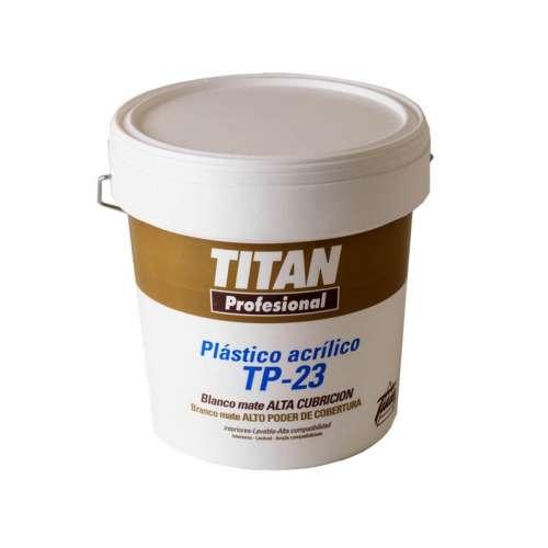 TITAN TP-23 PLASTICO BLANCO