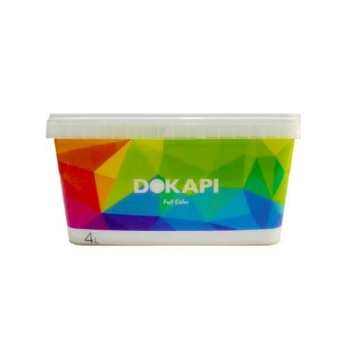 Dokapi Full Color Blanco 4L