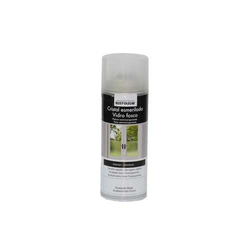 RUST-OLEUM SPRAY DECORATIVO CRISTAL ESMERILADO