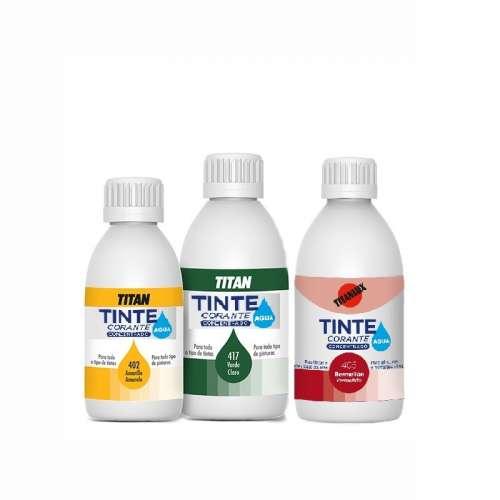 Tintes al Agua Titan