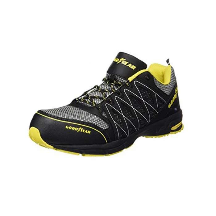 Zapato Good Year Negro/amarillo