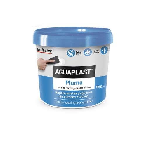 Aguaplast pluma light Masilla blanca al uso