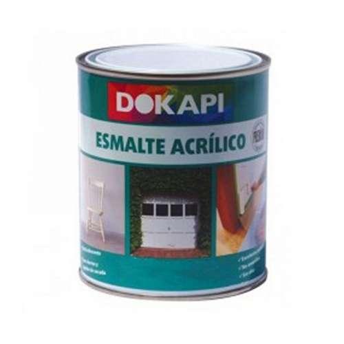Esmalte acrílico satinado Dokapi