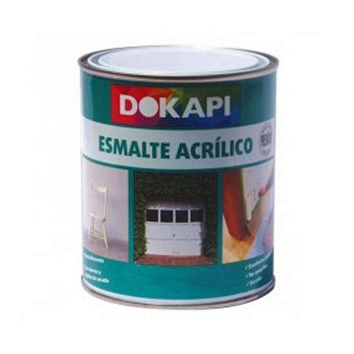 Esmalte acrílico brillante Dokapi