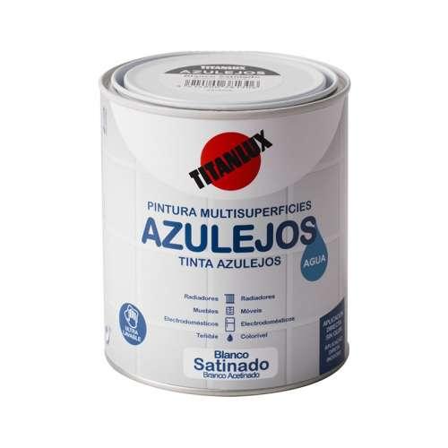 Esmalte Azulejos Al Agua Satinado