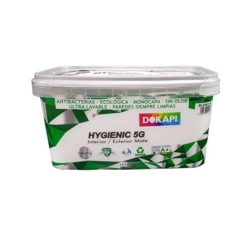 Hygienic 5g antibacterias