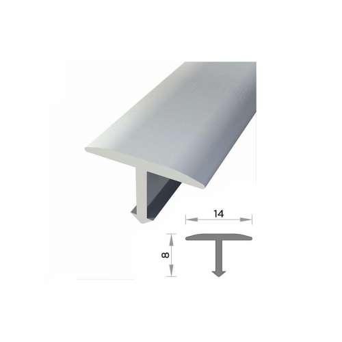 Perfil T 14mmx8mm