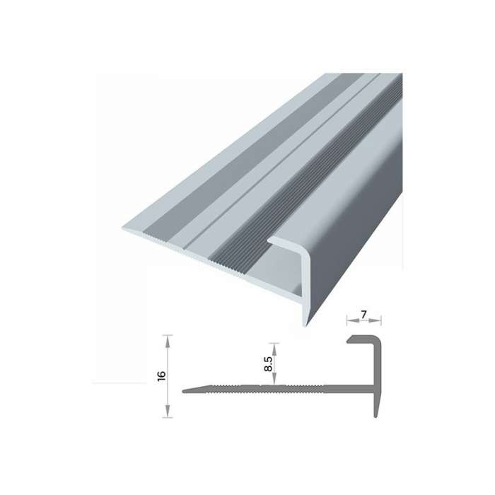 Cantonera de aluminio para escalera